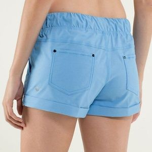Lululemon Play All Day Short Spry Blue 4